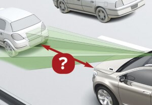 the correct stopping distance of a vehicle