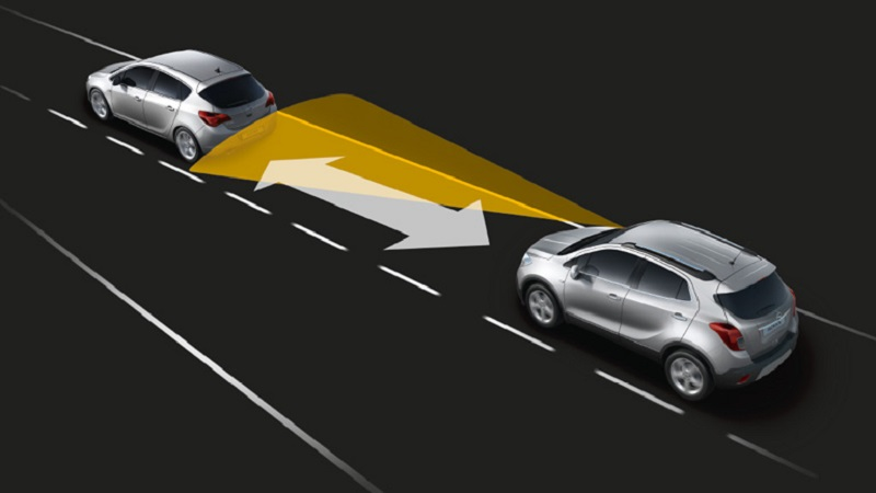 What should be considered the safe stopping distance of a vehicle?