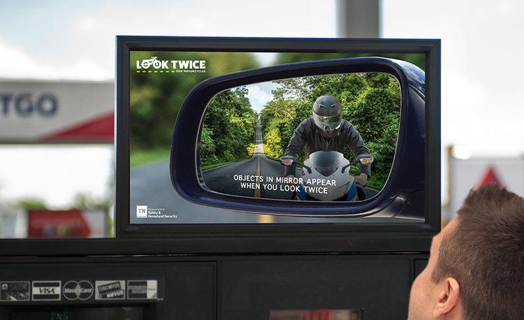 Mirror motorbike