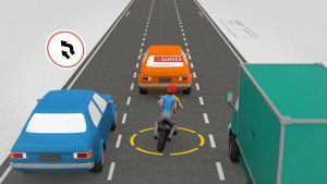 Crossing motorbike 1