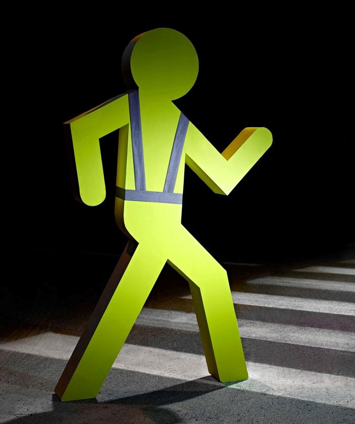 Pedestrian safety vest