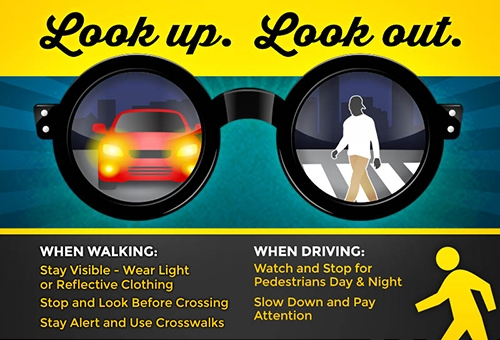Pedestrian or driver prevention measures