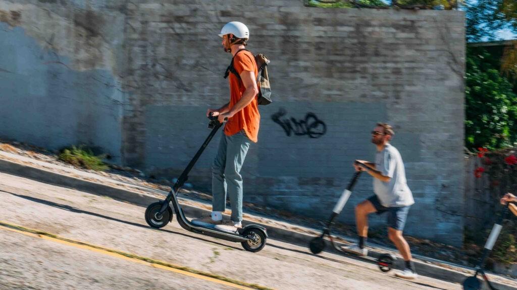 escooter climb