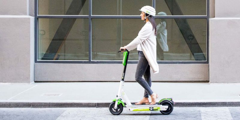 e-scooter in the City