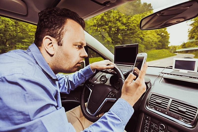 automatic navigation carelessness