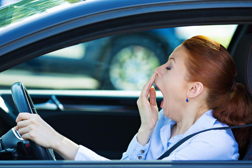 Drowsiness while driving