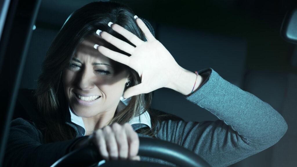 Lockdown Blurring car lights