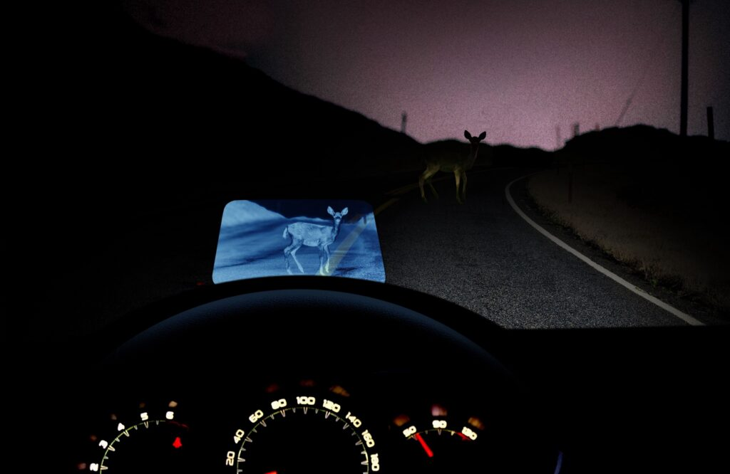 Lockdown Avoiding an accident at night