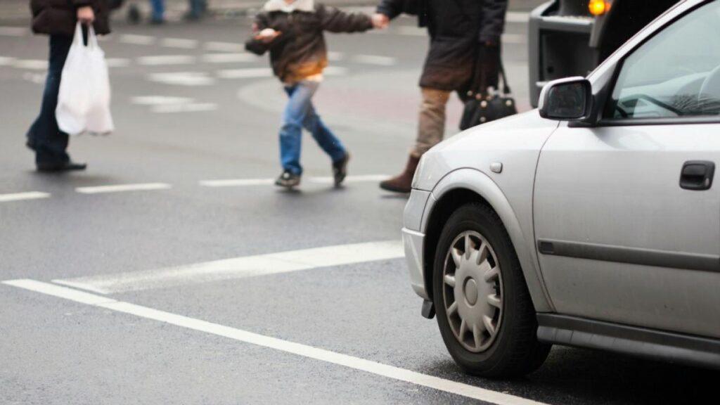 Beware of pedestrians